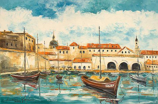 Dubrovnik Croatia by Luke Karcz