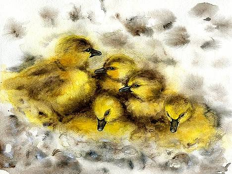 Ducklings by Scott Manning