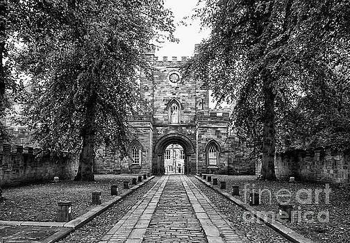 Durham Castle England by Lynn Bolt