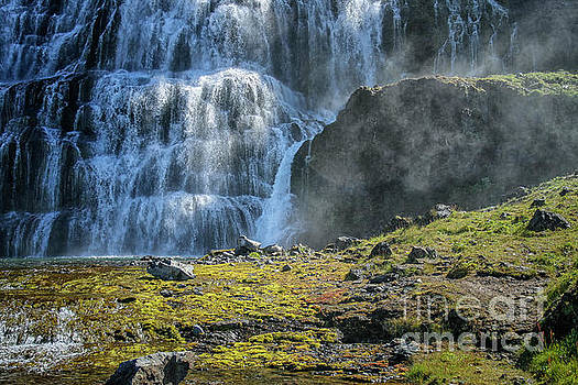Patricia Hofmeester - Dynjandi waterfalls in Iceland