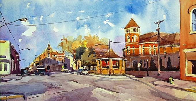 Early Morning Downtown Fairfield by Spencer Meagher