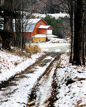 Early Winter Barn by Tim Kirchoff
