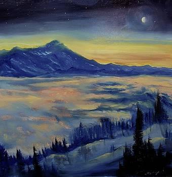 Earth Light Series Nocturne by Len Sodenkamp
