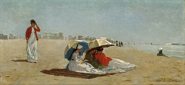 Winslow Homer  - East Hampton Beach  Long Island