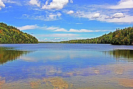 Echo Lake Acadia National 2 5292017 Acadia Park  by David Frederick