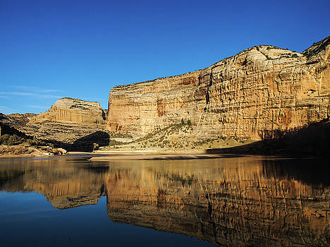 Echo Park in Dinosaur National Monument by Nadja Rider