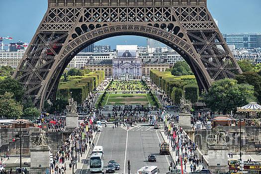 Eiffel Tower Paris by Lynn Bolt