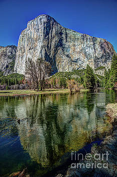Terry Garvin - El Capitan Reflected in the Merced River of Yosemite