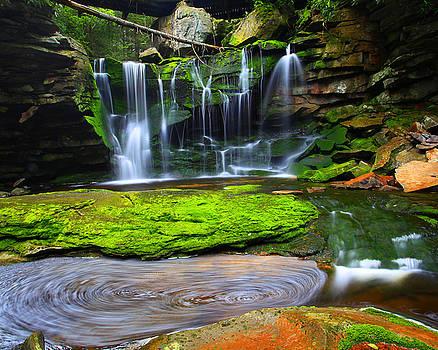 Elakala Falls by Matt Russell