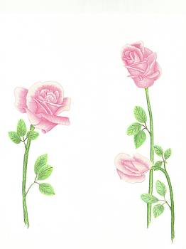 Elegant Roses by Dusty Reed