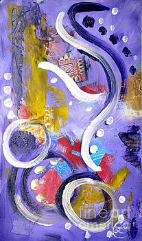 Elephant Dance by Lynda Cookson