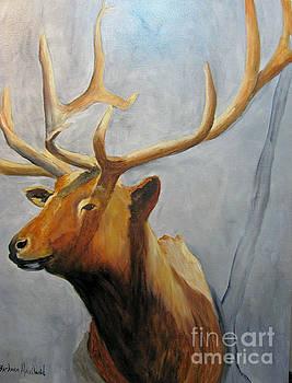 Elk Trophy by Barbara Haviland