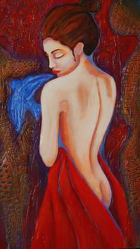 Elusive Bluebird by Claudia Fuenzalida Johns