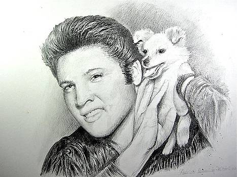 Elvis and Sweet-Pea by Patricia Schneider Mitchell
