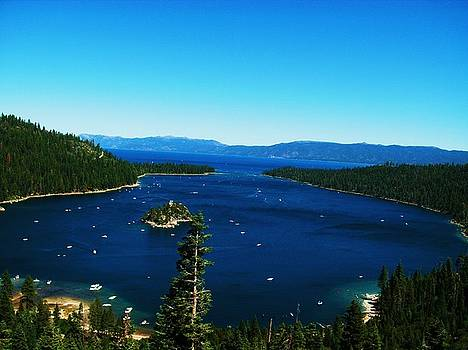Emerald Bay-Lake Tahoe by Russell  Barton