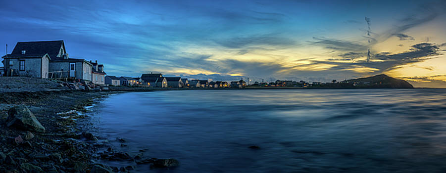 End Of Day At Havre-Aubert by Yves Keroack