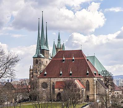 Erfurt Cathedral by Thomas Schreiter
