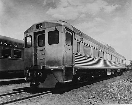 Chicago and North Western Historical Society - Exterior Shot of Chicago and Noith Western Passenger  Car