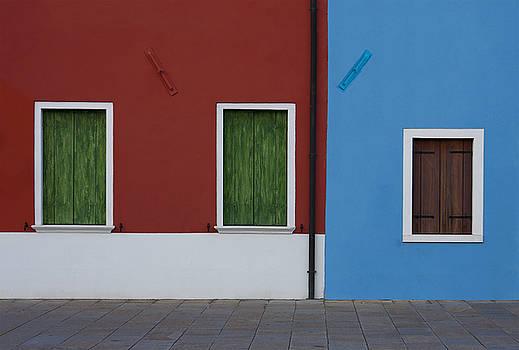 Facade of Burano by Mickael PLICHARD