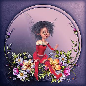 Fairy in the garden by John Junek