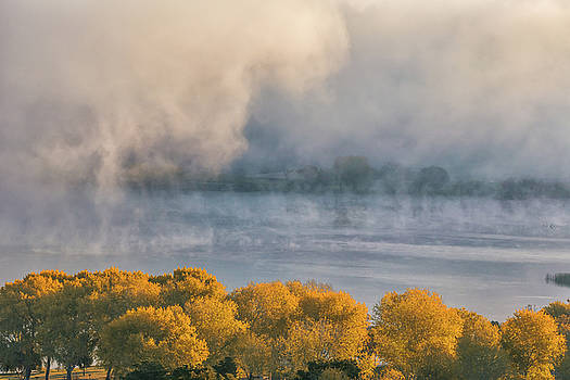 Marc Crumpler - Fall Color and Fog