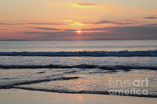 Fanore Sunset 2 by Peter Skelton