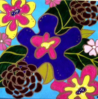 Fantasy Floral #3 by Anne Robinson