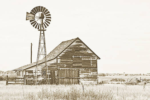 Scott Pellegrin - Farmhouse - sepia