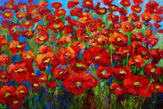 Field of Poppies by Mary Jo Zorad