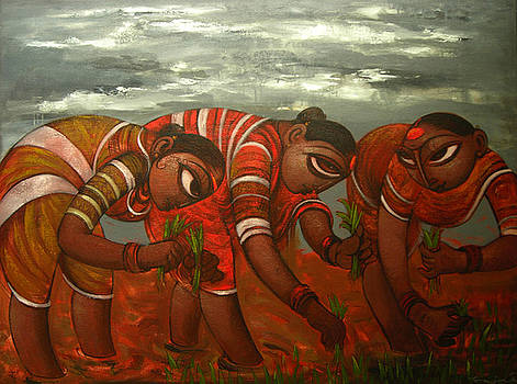 Figurative by Ramesh Gujar