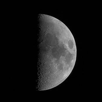 First Quarter Moon by David Smith