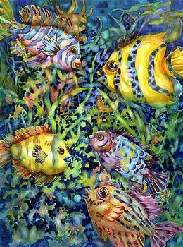 Fish Tales IV by Ann Nicholson