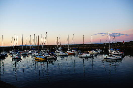 Fisherrow Harbour by Nik Watt