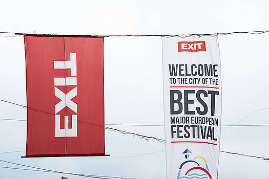 Newnow Photography By Vera Cepic - Flags of Exit music festival