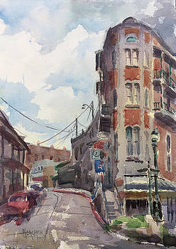 Flat Iron Eureka Springs by Spencer Meagher