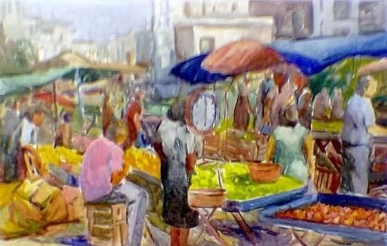 Flea Market by George Siaba