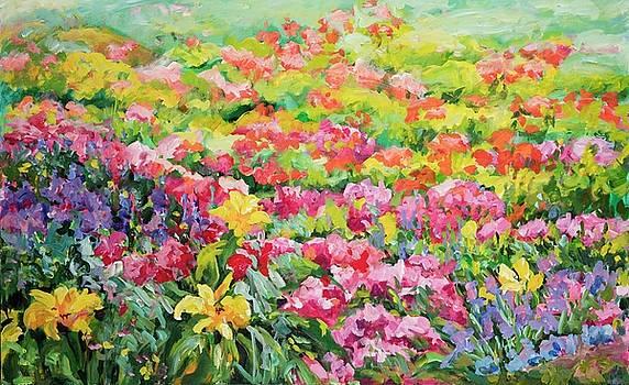 Floral Garden by Ingrid Dohm
