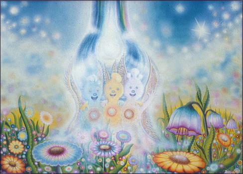 Flower Fairies by Leonard Rubins