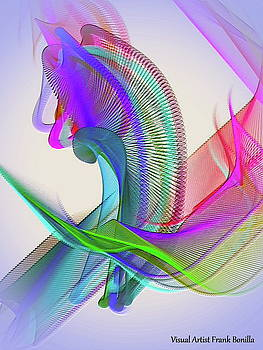 Flower Vase by Visual Artist Frank Bonilla