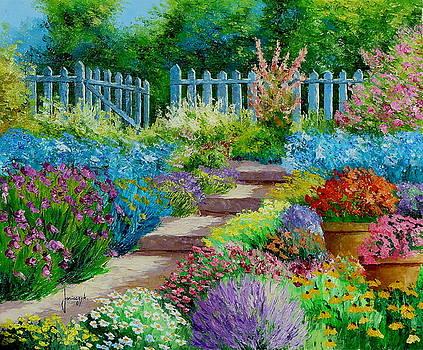 Flowers of the garden by Jean-Marc JANIACZYK