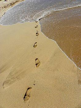 Elizabeth Hoskinson - Footprints in the Sand