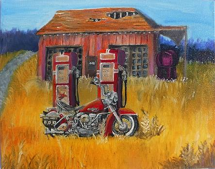 Forgotten America Motorcycle by Stormy Miller