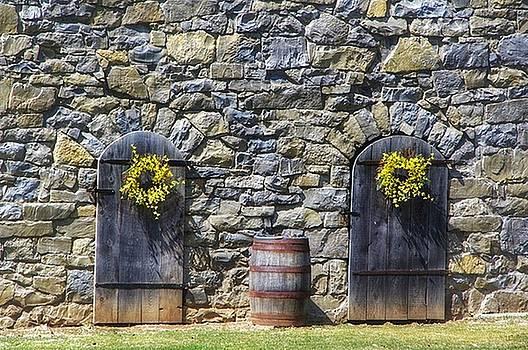 Forsythia Wreaths by Stephanie Calhoun