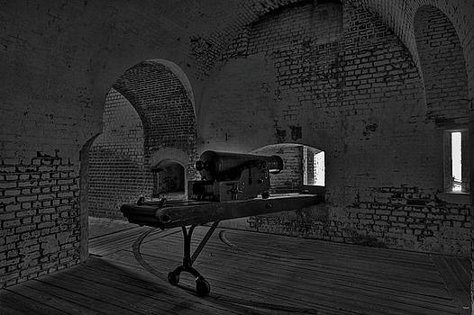 Jason Blalock - Fort Pulaski Cannon HDR