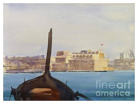 Fort St Angelo by Godwin Cassar