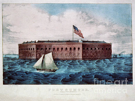 Dale Powell - Vintage Image of Fort Sumter