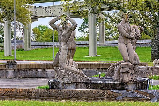 Fountain of the Four Winds 2 by Steve Harrington