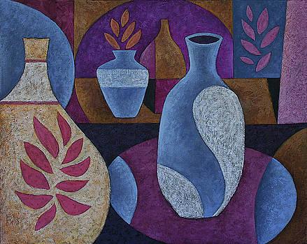 Four Vases by Dan Steven