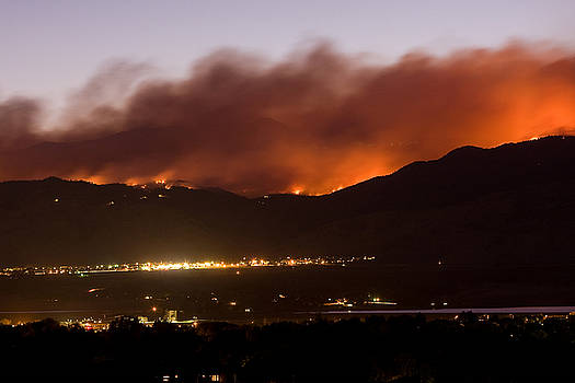 James BO  Insogna - Fourmile Canyon Fire Burning Above North Boulder