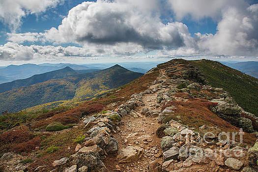 Franconia Ridge Trail - White Mountains New Hampshire by Erin Paul Donovan